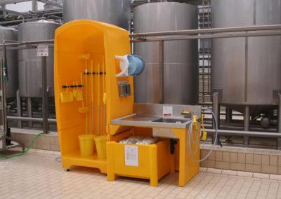 Hygiene stations Filtration BBT