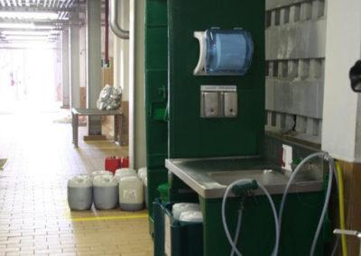 Hygiene stations Malt Handling